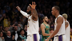 LeBron James scored 29 points including the game-winning basket