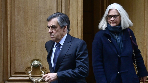 Former French PM Fillon jail sentence over fake job