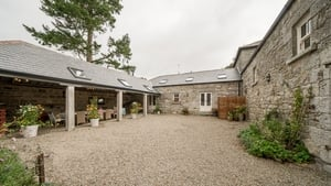 The couple converted three farmyard barns into their dream family home with a budget of €250,000.