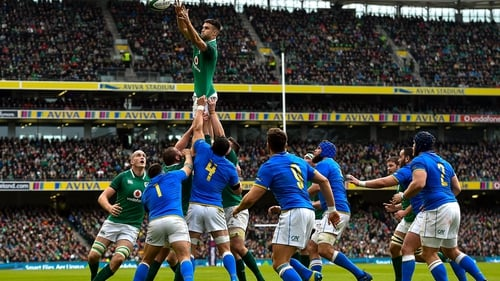 Ireland are due to host Italy on 7 March at the Aviva