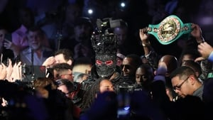 Wilder thought his ring-walk outfit was too heavy