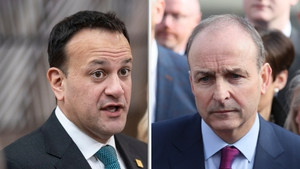 No substantial progress was made between Fine Gael and Fianna Fáil today on government formation