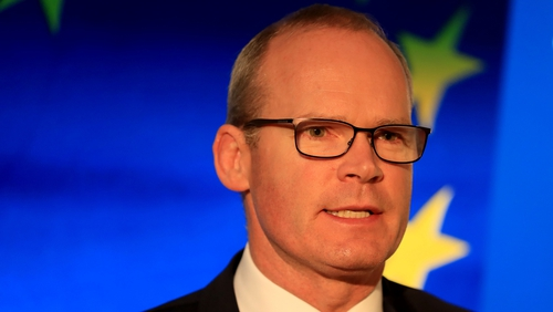 "Simon Coveney said a coalition between Fine Gael, Fianna Fáil and the Green Party would require a new ""mindset"""