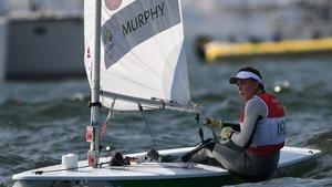 Annalise Murphy during Rio 2016