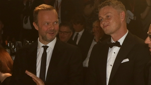 Ed Woodward (l) and Ole Gunnar Solskjaer