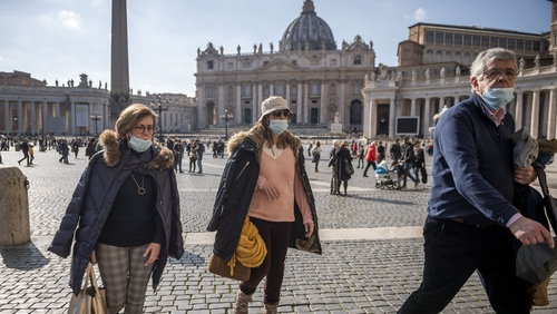 The Department of Foreign Affairs has not changed its overall travel advice to Italy yet