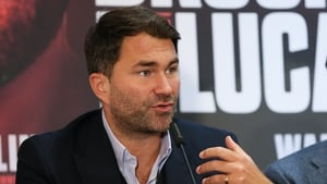 Eddie Hearn wants to see Anthony Joshua take on Tyson Fury soon
