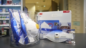 The group collected thousands of items of PPE items and donated them to hospitals in New York