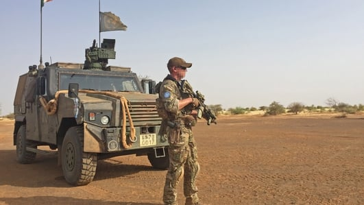 Three Irish soldiers injured while on patrol in Mali