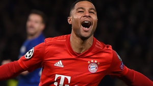 Serge Gnabry hit a quick-fire double