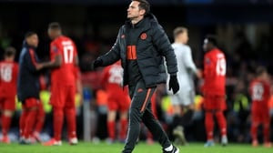 Chelsea manager Frank Lampard after the final whistle