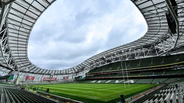 The incident happened at Serpentine Avenue not far from the Aviva Stadium in Dublin
