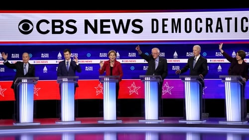 Democratic presidential candidates clashed repeatedly in last night's debate