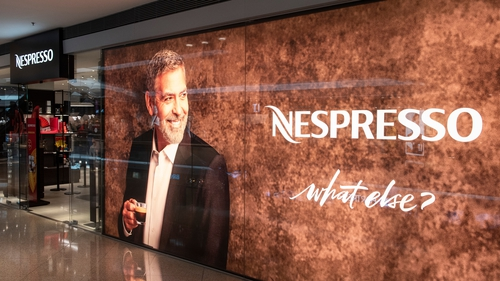 George Clooney has been the company's brand ambassador since 2007