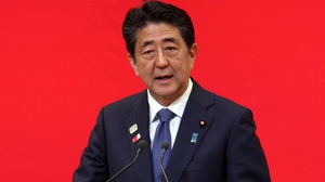 Shinzo Abe intends to be present  for the start of Olympic torch relay in Japan