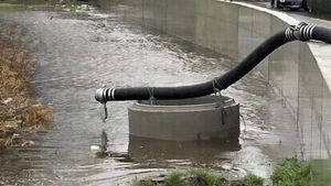 Council said it is continuing the pumping of flood waters at strategic locations