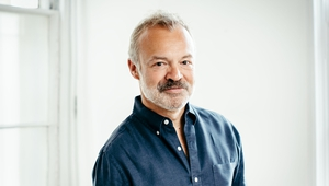 """Graham Norton: """"Like many, I had always wanted to write a novel, but quietly assumed it would remain an unrealised ambition. I am, therefore, both astonished and delighted to find myself talking about my third book."""""""