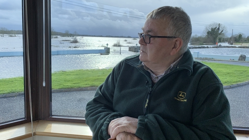 Paddy Kelly says he was left with no option but to leave his home because of the floods