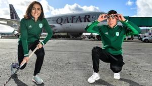 Hockey player Anna O'Flanagan and swimmer Darragh Greene
