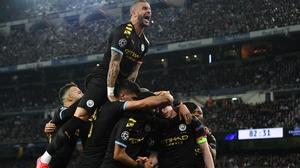 City celebrate the winner