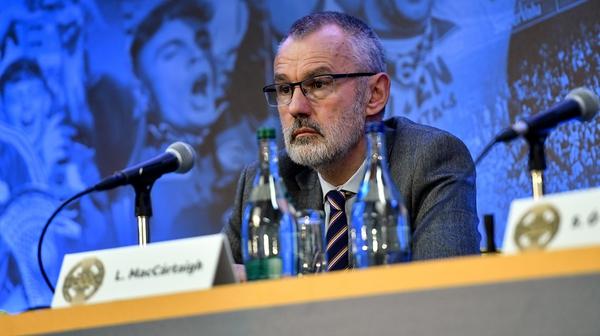 GAA president Larry McCarthy