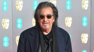 Pacino at the BAFTA Awards earlier this year.
