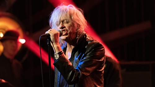 """Bob Geldof - """"That was basically the end of the Boomtown Rats in America"""""""