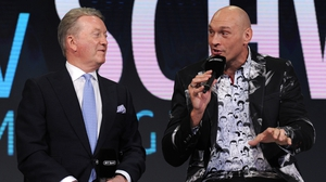 Fury's promoter Frank Warren confirmed what had been announced Stateside over the weekend