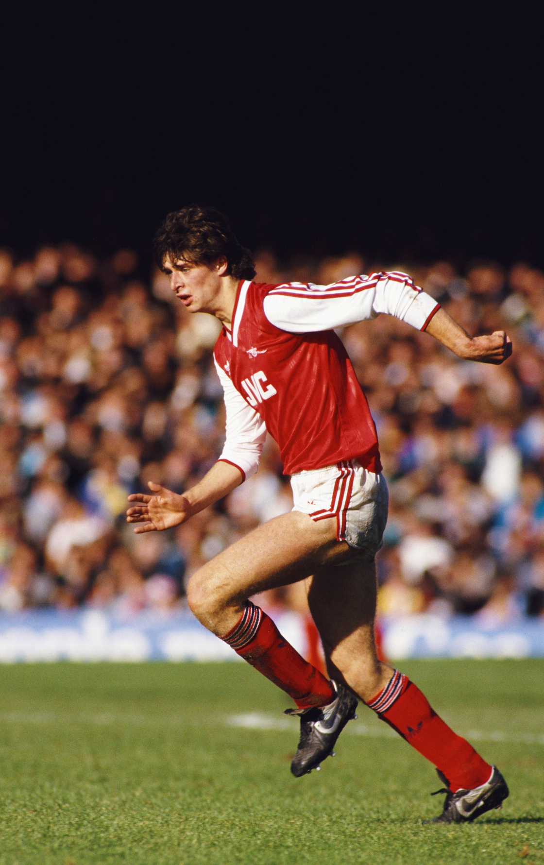 Image - Niall Quinn with Arsenal in '86