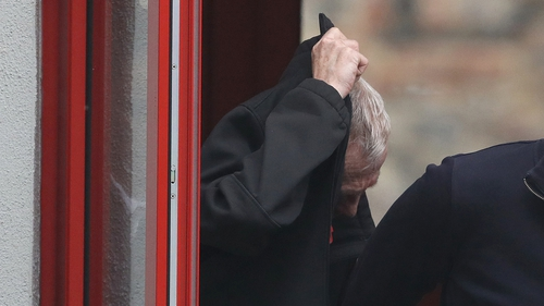 Gerard McKenna of Rathmullen Park appeared in court this morning