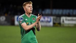Alec Byrne's goal was enough for Cork City