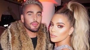 Andrew Fitzsimons and Khloe Kardashian. Image: Instagram