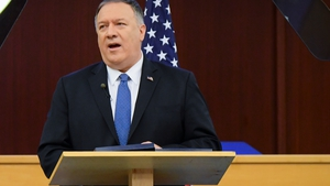 Mike Pompeo would like to see a transitional government put in place ahead of new elections in Venezuela