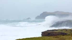 High seas on the west coast