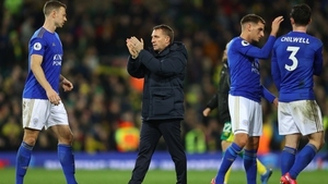Brendan Rodgers (c) has seen his side's form dip of late