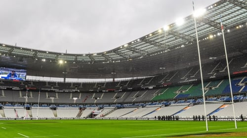 The game is due to be played at Stade de France