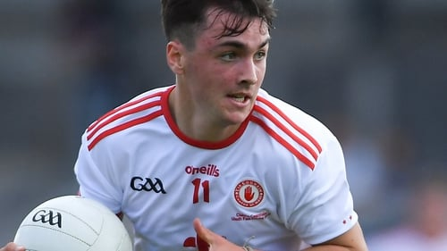 Darragh Canavan scored two points in Tyrone's victory