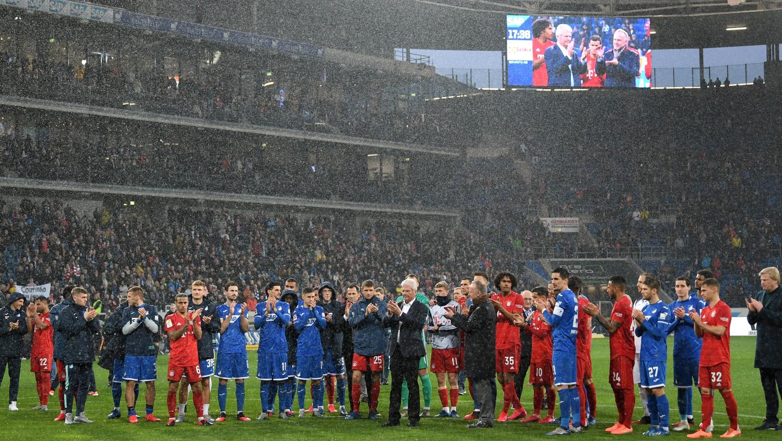 Bayern Crush Hoffenheim As Game Interrupted Over Banner