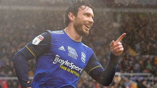 Scott Hogan initially joined Birmingham in January and scored seven goals in 17 appearances