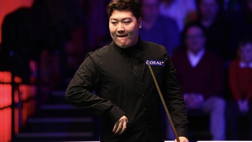 Yan Bingtao cruised into the Players Championship final.