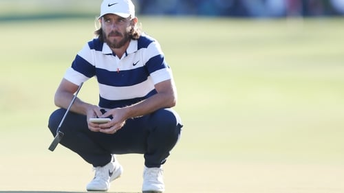 Tommy Fleetwood has seized he lead at the Honda Classic.