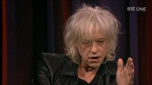 Boomtown Rats singer Bob Geldof