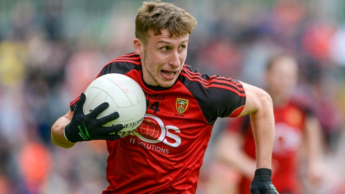 Barry O'Hagan top-scored for Down