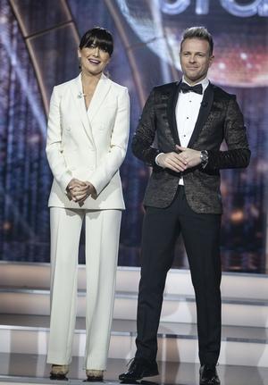 Jennifer Zamparelli and Nicky Byrne looking as stylish as ever.