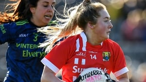 Sadbh O'Leary is tracked by Mayo's Noirin Moran