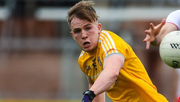 Odhran Eastwood bagged two goals for Antrim