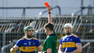 Cathal Barrett was dismissed for Tipperary