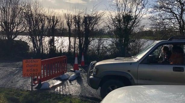 Gort roads blocked