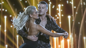 """Aidan Fogarty with professional dance partner Emily Barker - """"I think being myself is what got me through to the quarter-finals"""""""