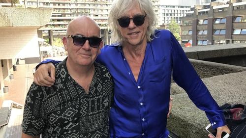 Citizens Of Boomtown: Billy McGrath and Bob Geldof pictured in London, 2019